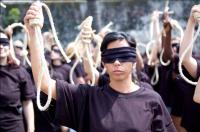 Demonstrace proti ukamenování Sakíne