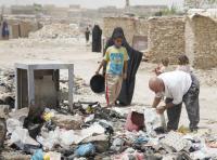 Irácké vnitřně vysídlené osoby v osadě