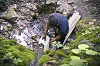 Zdroj vody pro Romy v Ribnici