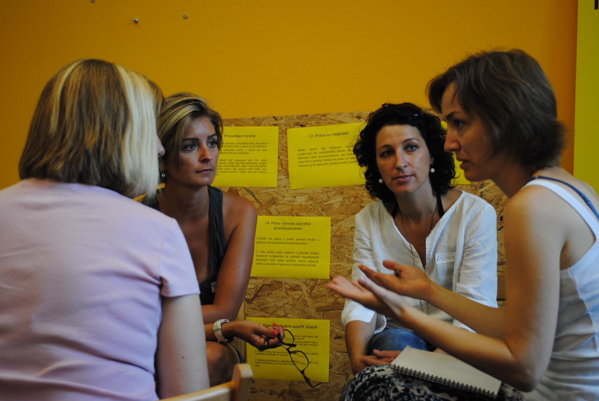 Semináře pro pedagožky a pedagogy