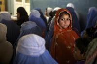Ženy v nemocnici Lékařů bez hranic (MSF)