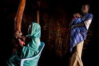 Ženy v uprchlickém táboře Yida (Jižní Súdán).