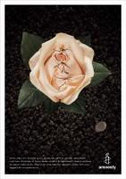 Plakát ke kampani Amnesty Interantional proti ženské obřízce