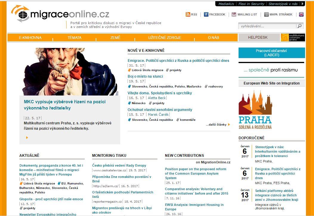 Migrace online