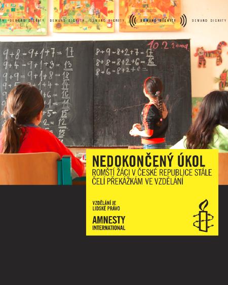 Nedokončený úkol - romští žáci v České republice stále čelí překážkám ve vzdělání