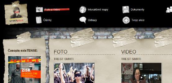 S webem o webu www.lidskaprava.cz
