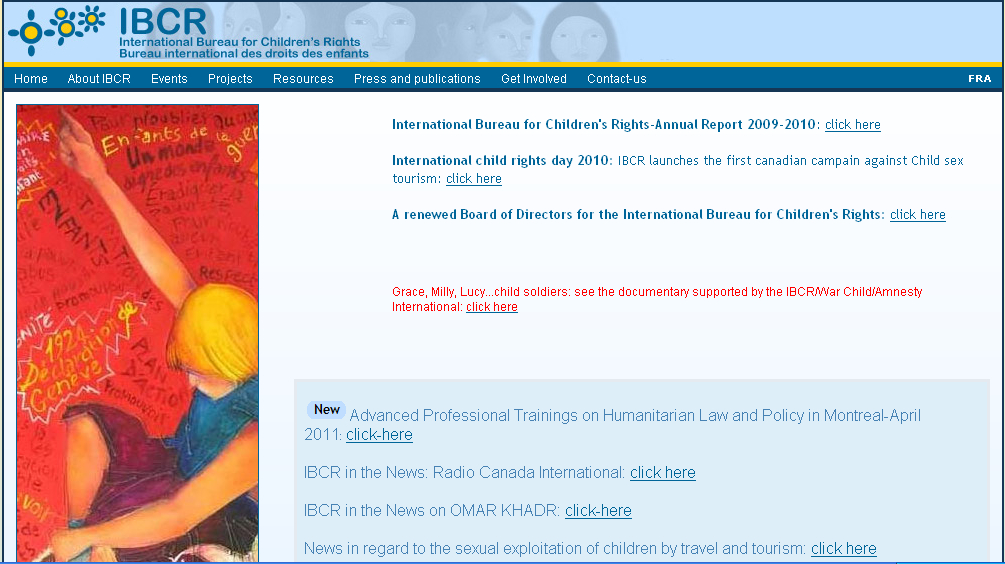 IBCR  International Bureau for Childrens Rights 
