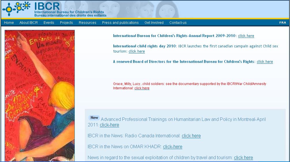 IBCR – International Bureau for Children's Rights