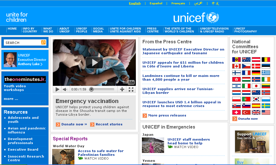 The United Nations Children
