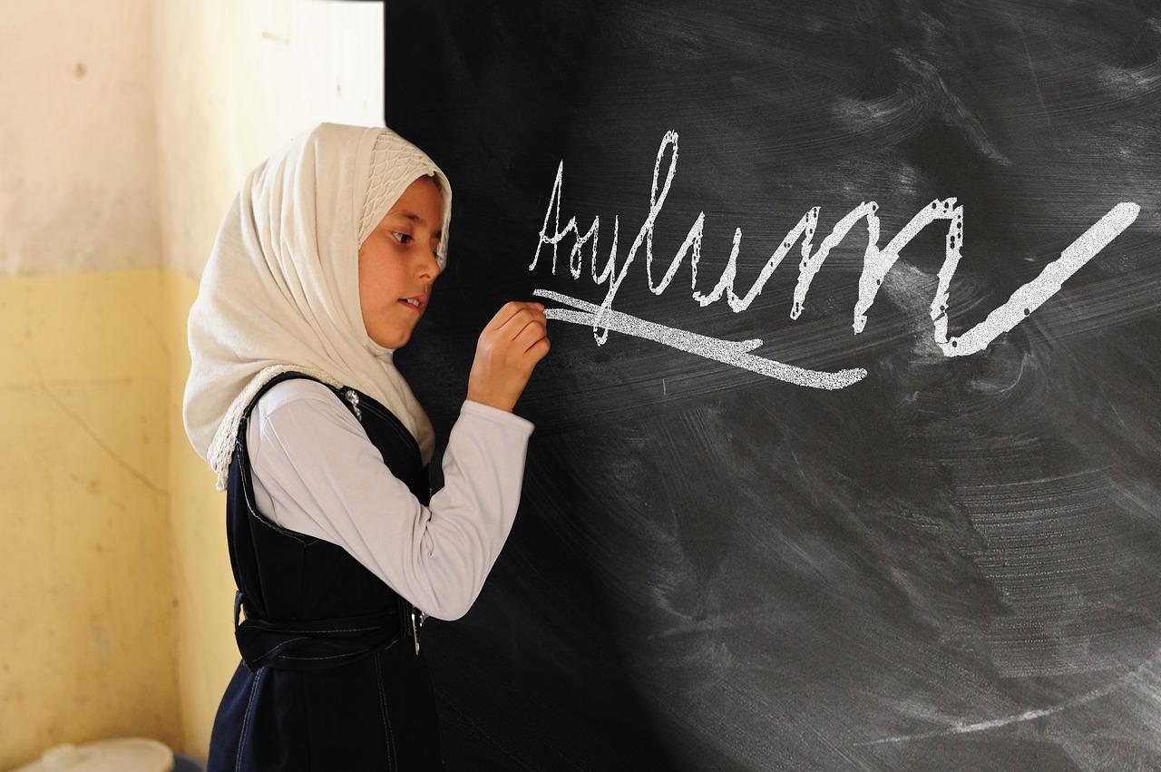 Dívka a azyl