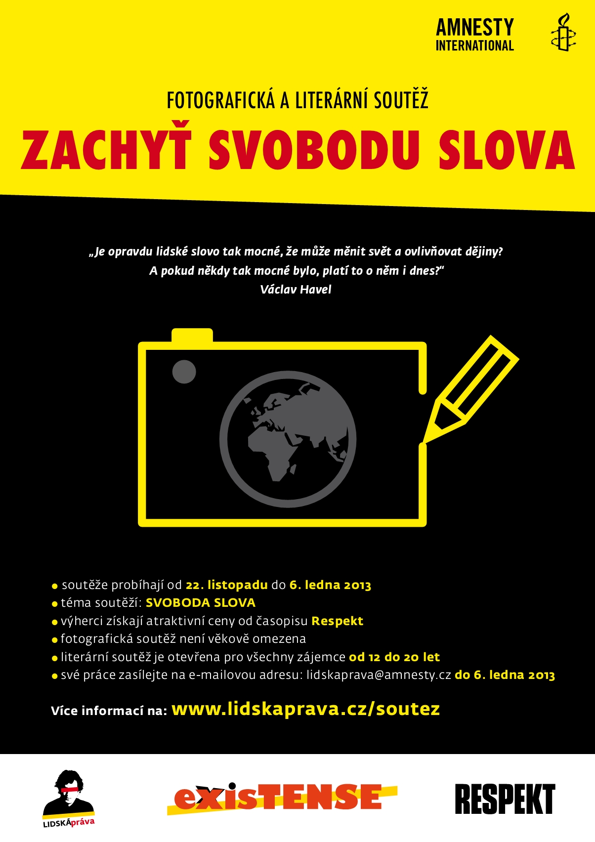Vsledky soute Zachy svobodu slova!