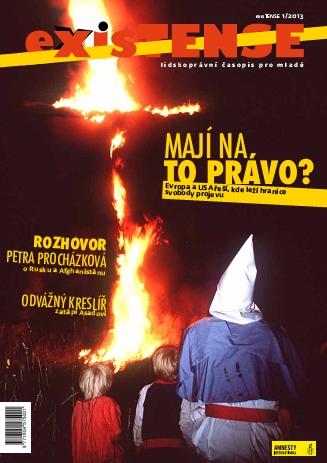 exisTENSE 1/2013 – svoboda projevu