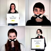Za svobodu projevu v Bahrajnu